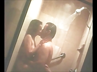 Shannen Doherty in the shower