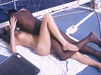 Zara Whites interracial massage scene