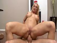 Elated Cowboy Rides On Diamond Foxxx