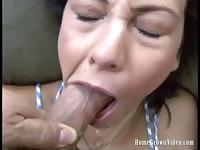 Jessica Valentino Does Her First Deep Throat Scene