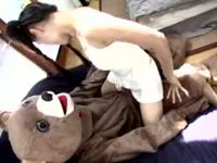 Sasha Grey Fucks A Bear