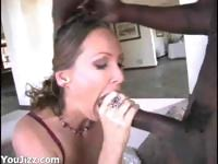 Cute Mandy Bright Takes A HUGE Cock