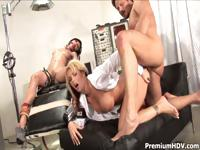 Mixing the kinky pleasures of electric stimulation with a good portion of hard fucking