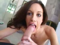 Tight Taylor Rain Gives A Great POV BJ