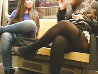 PAWG ASS Crack On The Train