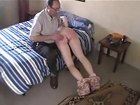 Dad and Friend Spank Pretty Daughter xLx