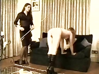 Domestic caning