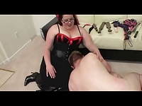 Femdom BBW In Charge