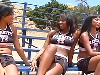 Black Lesbian Hunters, Hot CheerleadersThreesome