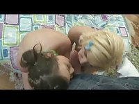 Two Schoolgirls Submissive are humiliated and fucked