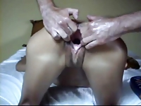 Couple having Fun with Fist and Squirting