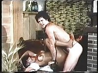 Vanessa del Rio and Kevin James anal chair fuck