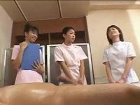 Japanese massage training 01 - part 2 - how to massage a man - no cumshot