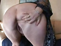 Lovely Plump Granny