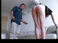 Public aftermath caning