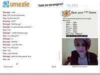 Omegle Games Part 2 - Hot Brunette- by anonymous