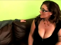 Sexy Big Tits Milf In Black Dress And Stockings!!!!!!!