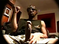 Big Black Dick Stroke