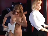 Innocent Girl Seduced By Mature Lesbian - Nina and Anna