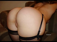 Slideshow of amateurs with big asses