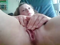 27yo Cathy from Cheshire UK playing with her wet pusssy