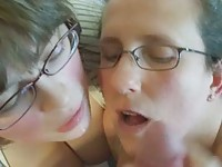 2 Teen cumming face I say TEEN YoubeeFood
