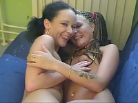 Danish Lucy little and lesbian friend