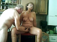 My Grandparents Have Fun In The Kitchen