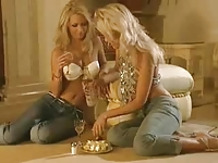 Lesbian Sex - Two Hot Blondes