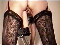 sex machine Amateur, Homemade Fucking Machine