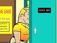 Gay Toon - Twink gets Hunky Coach