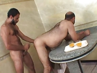 Brasilian Chubby Bear Taking Hard Dick Deep Inside