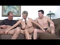 Hot German Mature Threesome