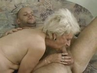 Skinny Old Granny Getting It On