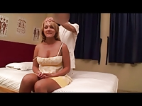 Amateur Blonde Wife Massage (PTS-162) Scene 4
