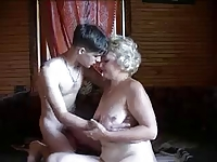 rus MATURE WOMAN loved HARD YOUNG DICK - NV