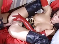 Angel and Liliane have sex in latex and boots