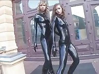 Two Princess in Latex - by TLH