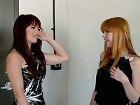 Pretty Teens Ashlyn Rae and Marie McCray Fuck Together.