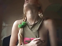 Young Blonde Teen in the Train by snahbrandy