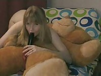 Teen Sex with Teddy Bear...TOHT