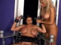 Busty Girl Tied To Chair Getting Her Tits Rubbed Shoes Licke...