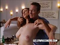Celeb mimi rogers big bare breasts getting massaged in movie full body massage