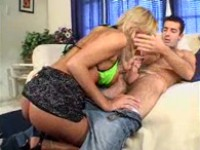 Blonde hooker sucks cock - free porn video