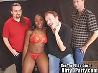 Stripper Cedra After Party Group Sex