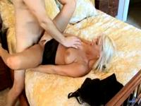 Emilianna spreads her wet tight pussy really close and gets fucked