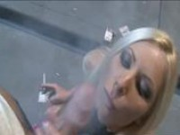 smoking blow job