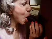 My granny sucks black cocks