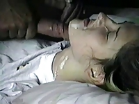 Teen gets a facial