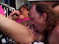 Experienced lady is giving the blowjob and fucking of his life